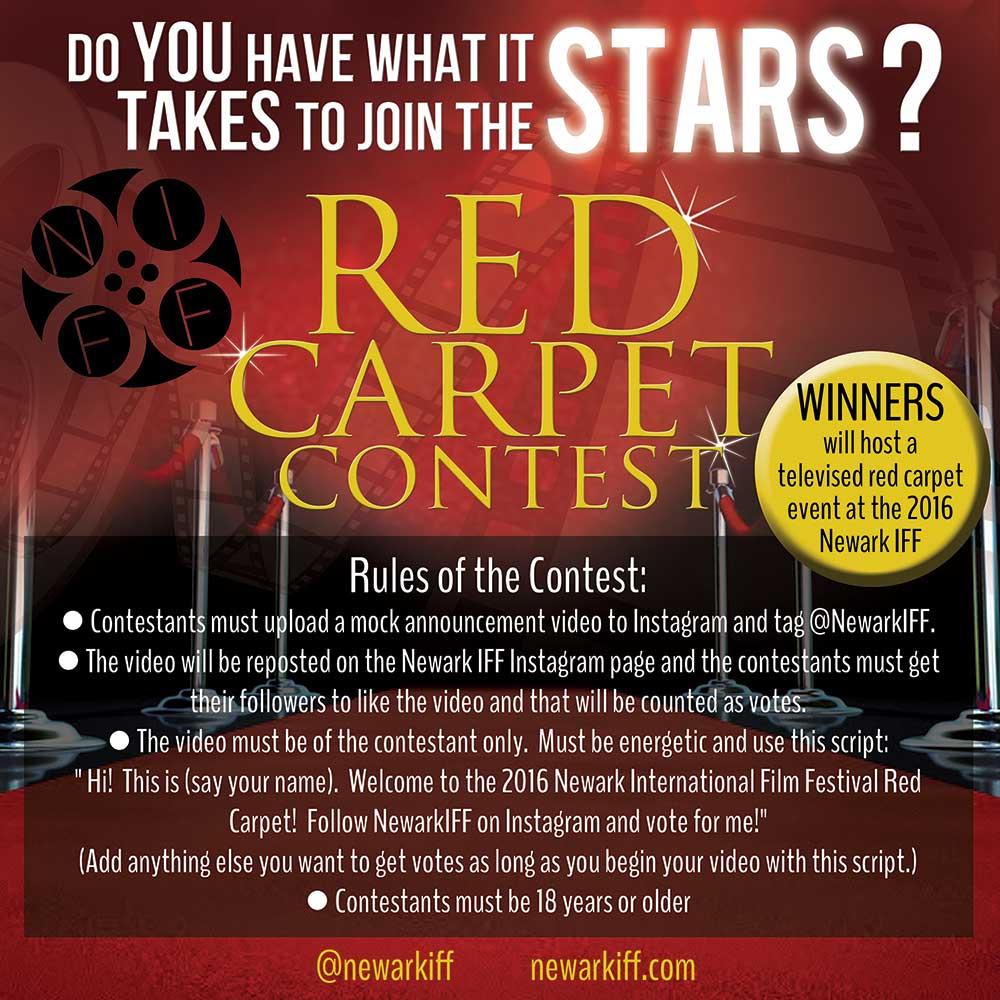 Newark IFF Red Carpet Contest