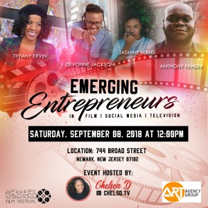 Newark International Film Festival's Emerging Entrepreneurs in Film Social Media and TV