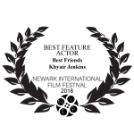 Newark International Film Festival's 2018 Best Feature Actor Award
