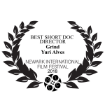 Newark International Film Festival's 2018 Best Short DOC Director Award