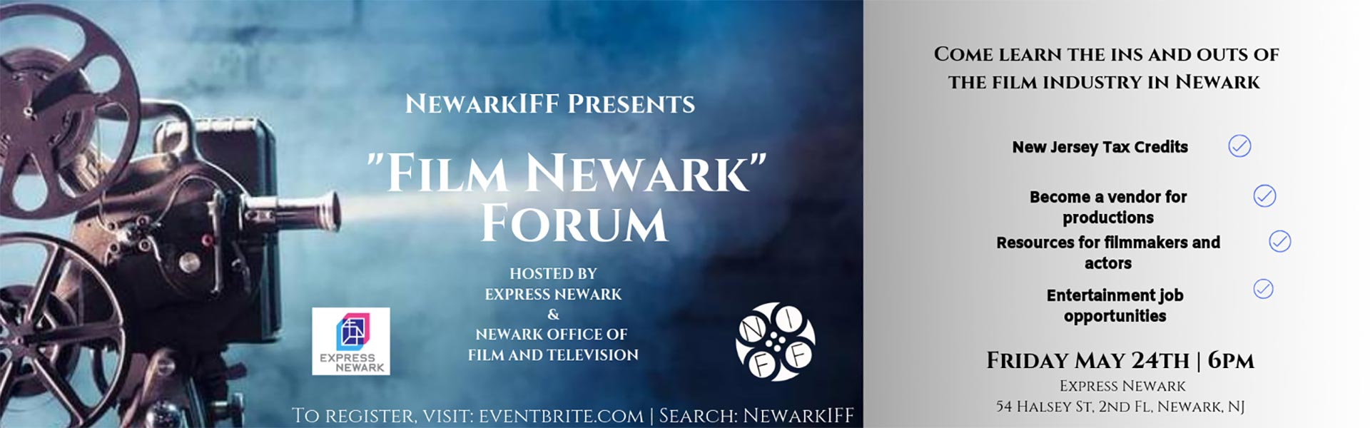 Newark IFF Presents